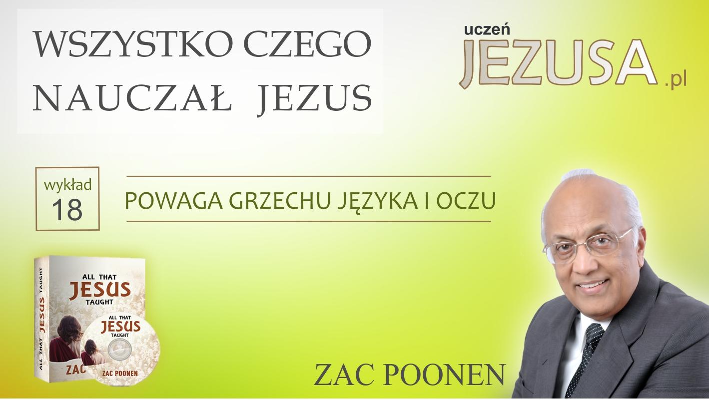 POWAGA GRZECHU JĘZYKA i OCZU – Zac Poonen