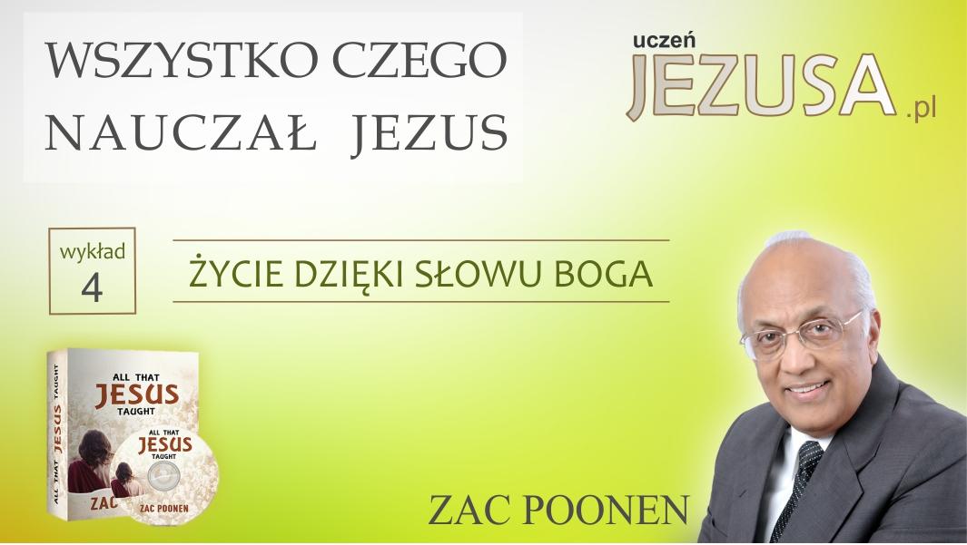 ŻYCIE DZIĘKI SŁOWU BOGA – Zac Poonen
