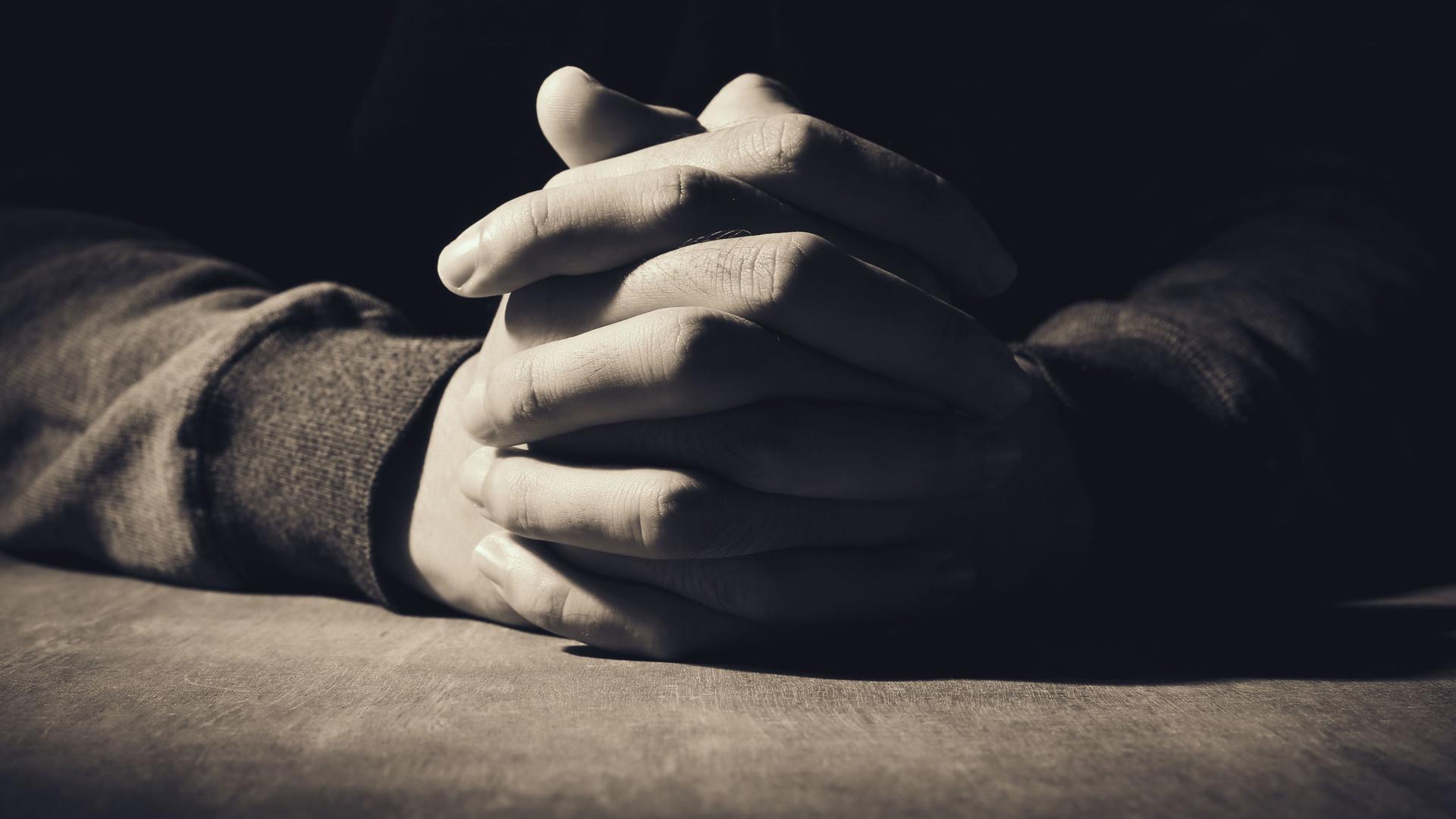 Modlitwa o krzyk